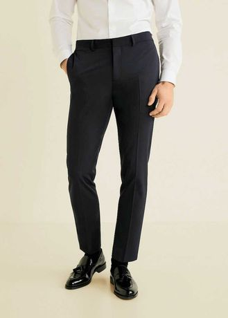 Pantaloni de costum, super slim fit, barbati - Mango