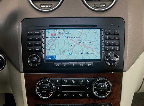 Ремонт на навигация Мерцедес Mercedes W164, W203, W209, W220, W211 и