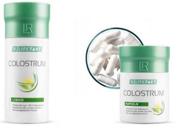 Colostrum LR-течна коластра 70 лв или капсула 100 лв