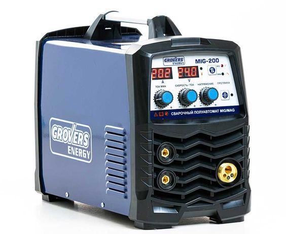 Сварочный аппарат MIG 200 GROVERS ENERGY в наличии вг.Атырау