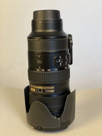 Nikon 70 -200 vr II 2.8 stare impecabila cu banda de protectie