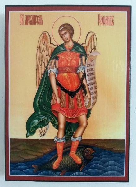 Икона на Свети Архангел Рафаил ikona Sveti Arhangel Rafail гр. Пловдив - image 1