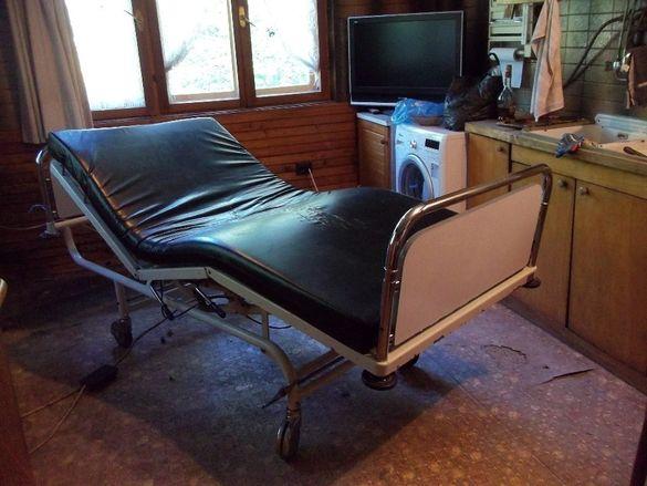 Професионално медицинско анатомично ортопедично болнично легло кушетк