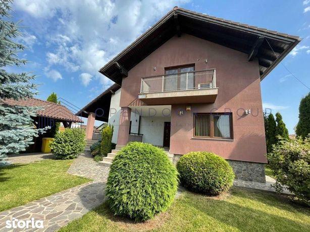 Casa individuala de inchiriat in Selimbar zona Dracula 180 mp utili
