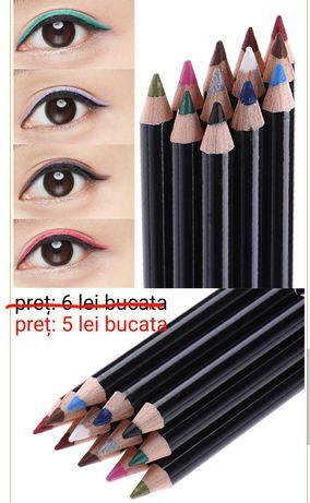 Creioane contur buze si ochi waterproof