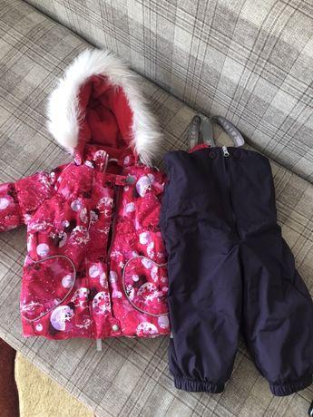 Зимняя финская куртка нюна девочку