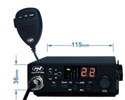 Statie CB emisie-recepție 12V fără antenă
