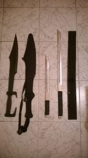 ПРОМО самурайски меч и кама за 50 гр. Провадия - image 1