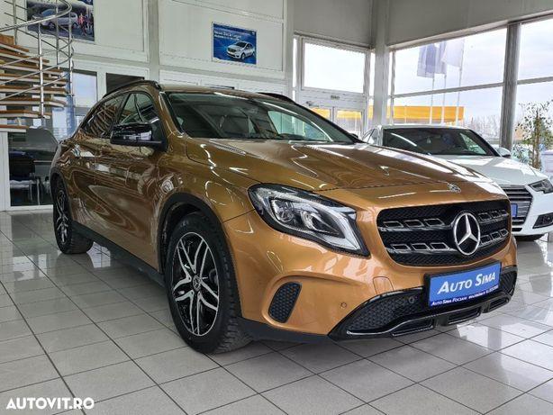 Mercedes-Benz GLA 76 000 km, 220 d 4 MATIC, cutie AUTOMATA / FINANTARE cu avans de la 0%