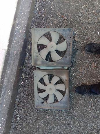 Вентилятор радиатора. Хонда одиссей