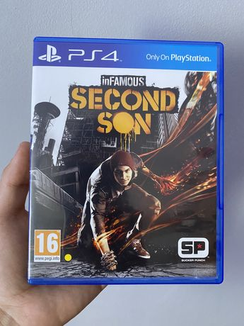 Infamous Second Son joc Playstation 4 PS4 Play station 4 PS 4  Preț fi