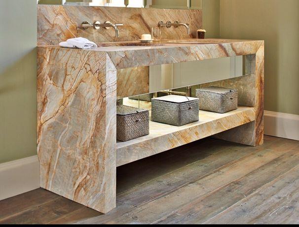 Mobilier blat baie din marmura și granit Buzau