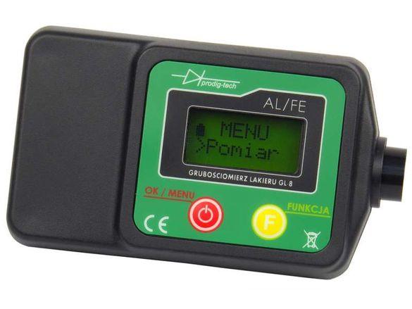 Дебеломер GL-8 за измерване на боя на автомобили