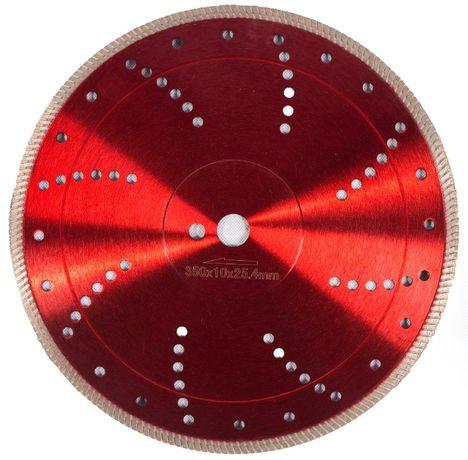 Disc diamantat 350x25,4mm sau 30mm
