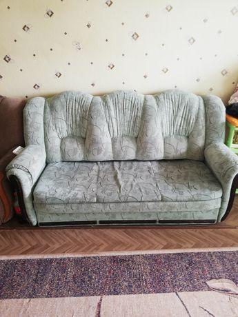Раскладной диван сатылады таза бары креслосымен