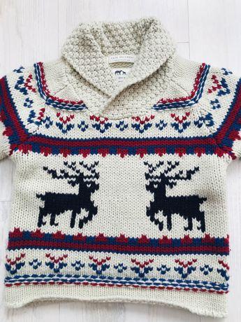 Плетен пуловер Zara