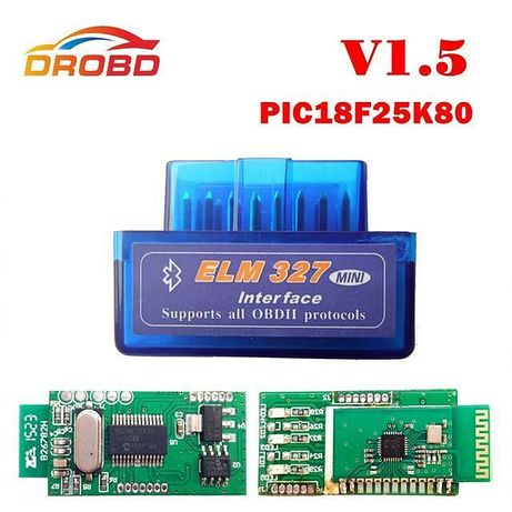 Elm 327 Bluetooth v1.5-2.1 автодиагностический сканер елм vag com