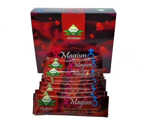 Afrodisiac 100% Natural,Themra Magiun pentru EL/ EA, Cutie 12 plicuri