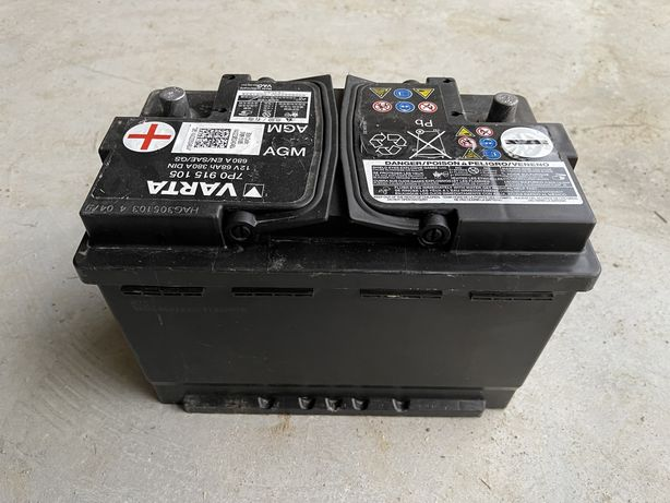 Baterie Start Stop Varta 68Ah AGM Varta 7P0915105 Golf 7 Passat B8