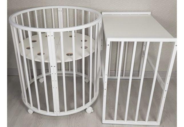 Детская кроватка - трансформер 10 в 1