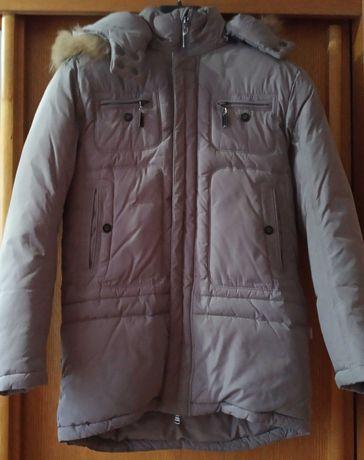 Куртка зимняя REALLY MASTER на мальчика 10-11 лет, рост 146 см