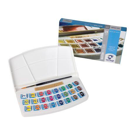 VAN GOGH Watercolours Talens - Екстра фини акварели комплект 24цвята