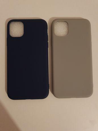 2 Huse Iphone 11 silicon, noi
