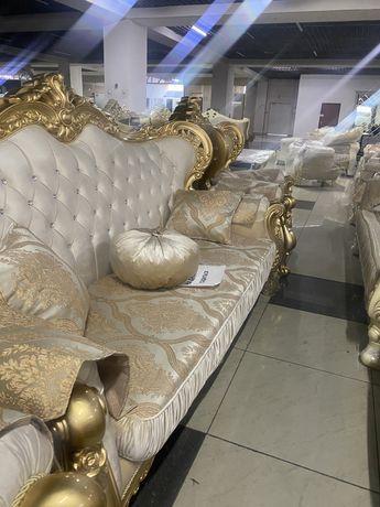 Диван два кресла новые дешево