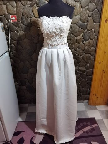 Официална рокля 3д дантела