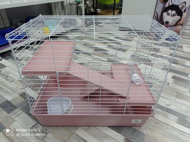 Клетка большая для грызунов 2 этажа