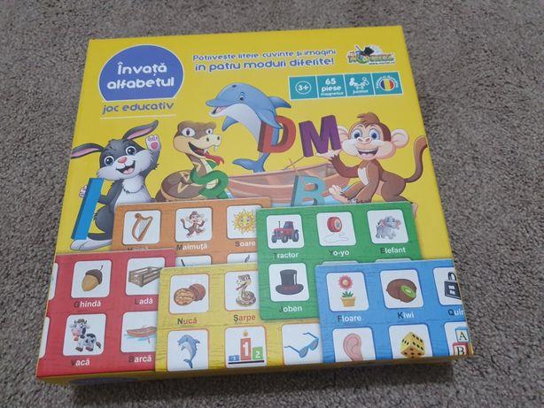 Joc educativ - Invata alfabetul