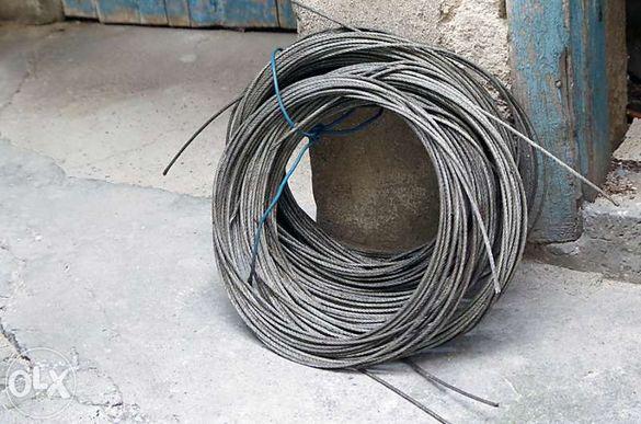 Продавам стоманено въже