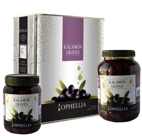 НАЛИЧНИ за ПАЛЕ Гръцки маслини Каламата на Ophellia 1кг