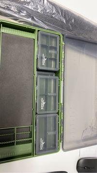 Cutii pescuit bagajiere suport riguri truse accesori trusa scule garaj
