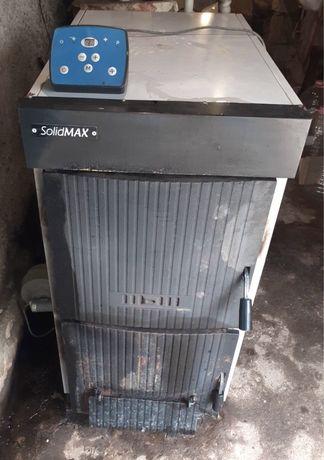 Котел на твърдо гориво SolidMax 40 kW