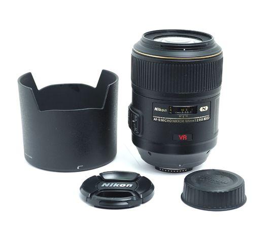 объектив Nikon AF-S MICRO NIKKOR 105mm 2.8G ED