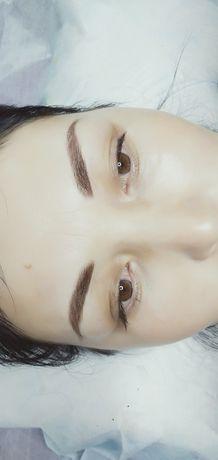 Перманентный макияж бровей, губы и век 12 000. КШТ