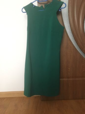 Rochie verde scurta Mango