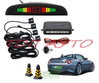 Парктроник Система С LED Дисплей И 4 Датчика В Сиво Или Черно