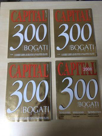 Vand revista Capital Top 300 cei mai bogati romani