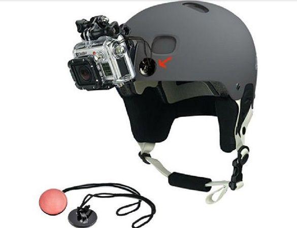 Обезопасително въженце с лепенка за action camera go pro gopro