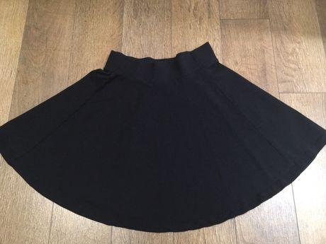 Черна къса пола H&M