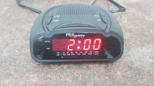 Часовник с радио за хотели Registry
