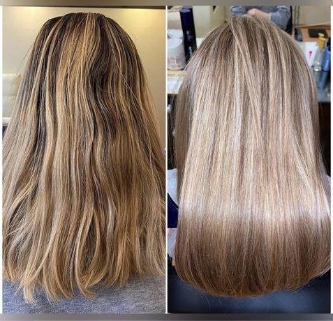 Биовыпрямление волос, Кератин, Ботокс, Комплексное  лечение