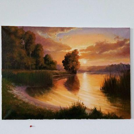 Pictura tablou canvasa landscape peisaj