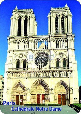 Магнитни стикери 1, 2,3 с изображения от Париж