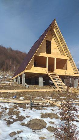 Vând cabane din lemn  de vacanță 5800euro