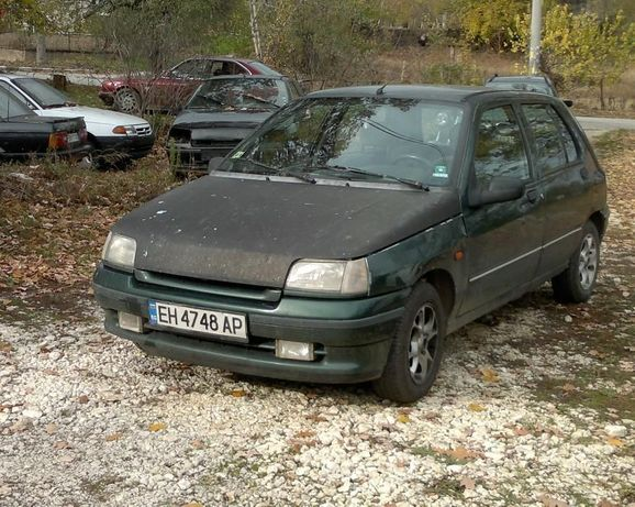 Renault Clio, 1.4i, 75 к.с. 1994, на части