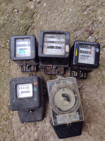 Електромер еднофазен ,работещ или контролен