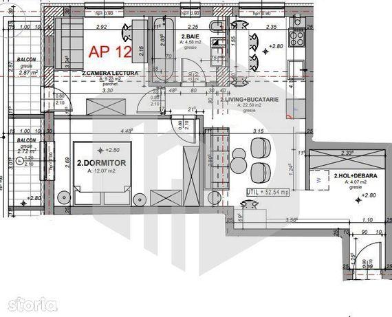 Etaj 1 -Apartament 3 camere | Direct Dezvoltator